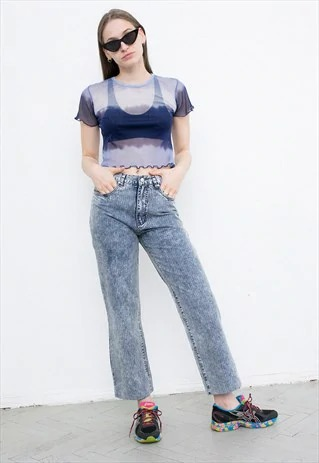 Washed Out Denim